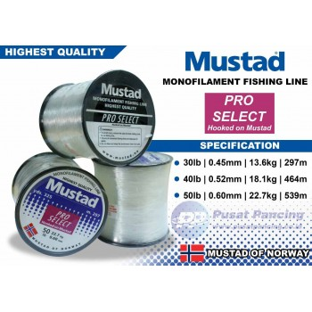 Senar Mustad Pro Select