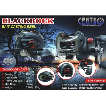 Reel BC Centro BlackRock