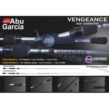 Abu Garcia Vengeance 2 cast