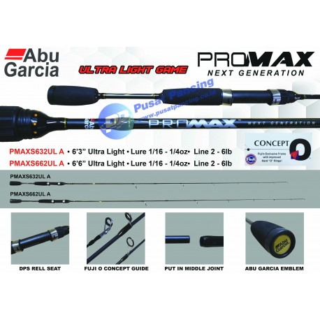 Joran Spinning Abu Garcia Promax UL (Ultra Light)