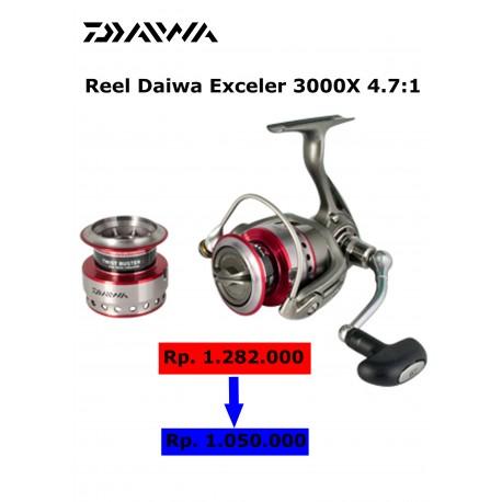 Reel Daiwa Exceler 3000X 4.7:1
