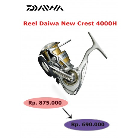 Reel Daiwa New Crest 4000H