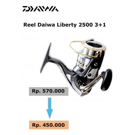 Reel Daiwa Liberty 3+1 2500