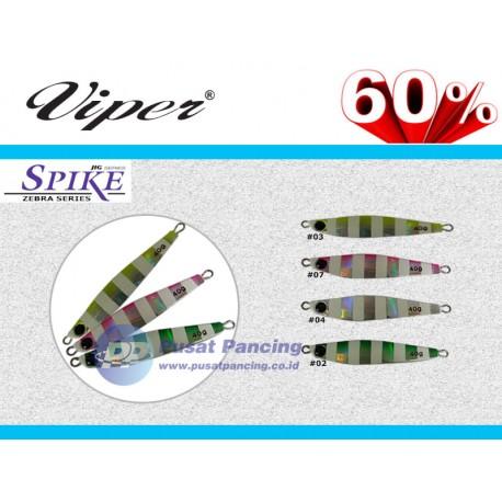 Umpan Viper Spike Zebra Jig