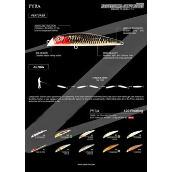 Umpan Zerek Pyra F120MM