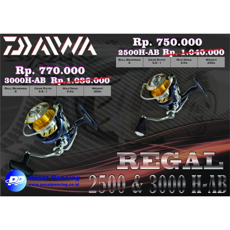 Reel Daiwa Regal RG3000H-AB