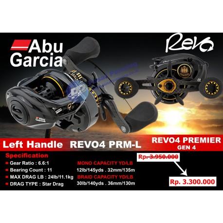Reel Mancing Casting Laut Abu Garcia Revo4 Premier Low Profile