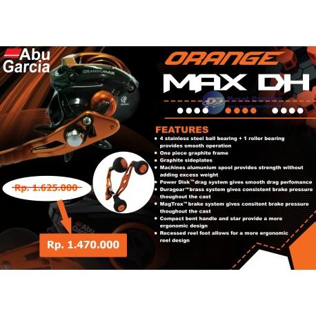 Reel Baitcasting Abu Garcia Orange Max3 DH Left Handle (Double Handle)