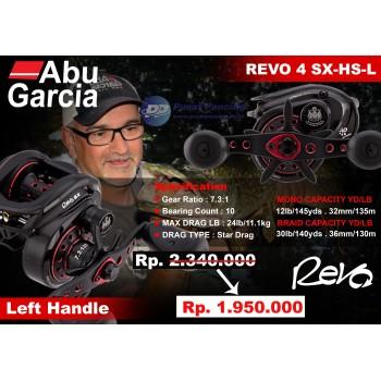 Reel Abu Garcia Revo4 SX-HS-L 7.3:1 10bB