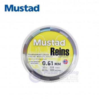 Mustad Reins Mono 300M (White)