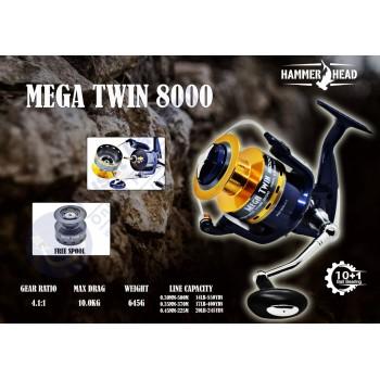 Reel Hammerhead Mega Twin...