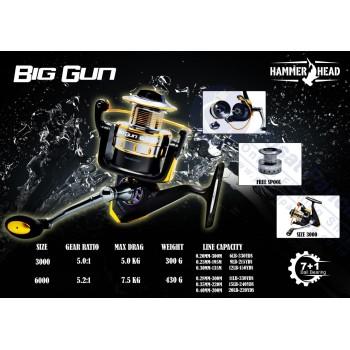 REEL HAMMERHEAD BIG GUN