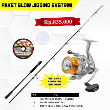 Paket Slow Jigging Ekstrim