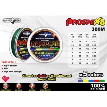 Hammerhead Prospex X8 300M RBW