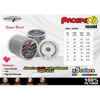 Hammerhead Prospex X8 100M