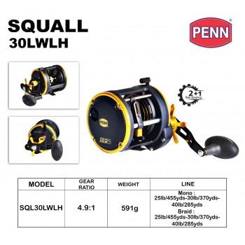 Penn Squall SQL30LWLH
