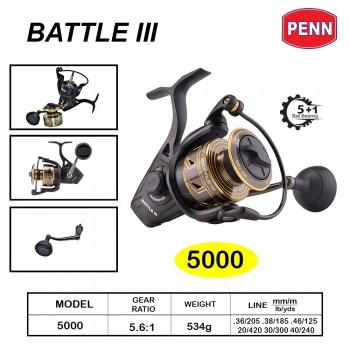 Penn Battle III Size 5000