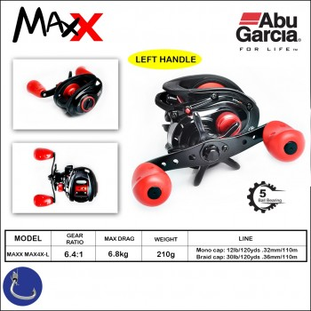 Abu Garcia Max X MAX4X-L